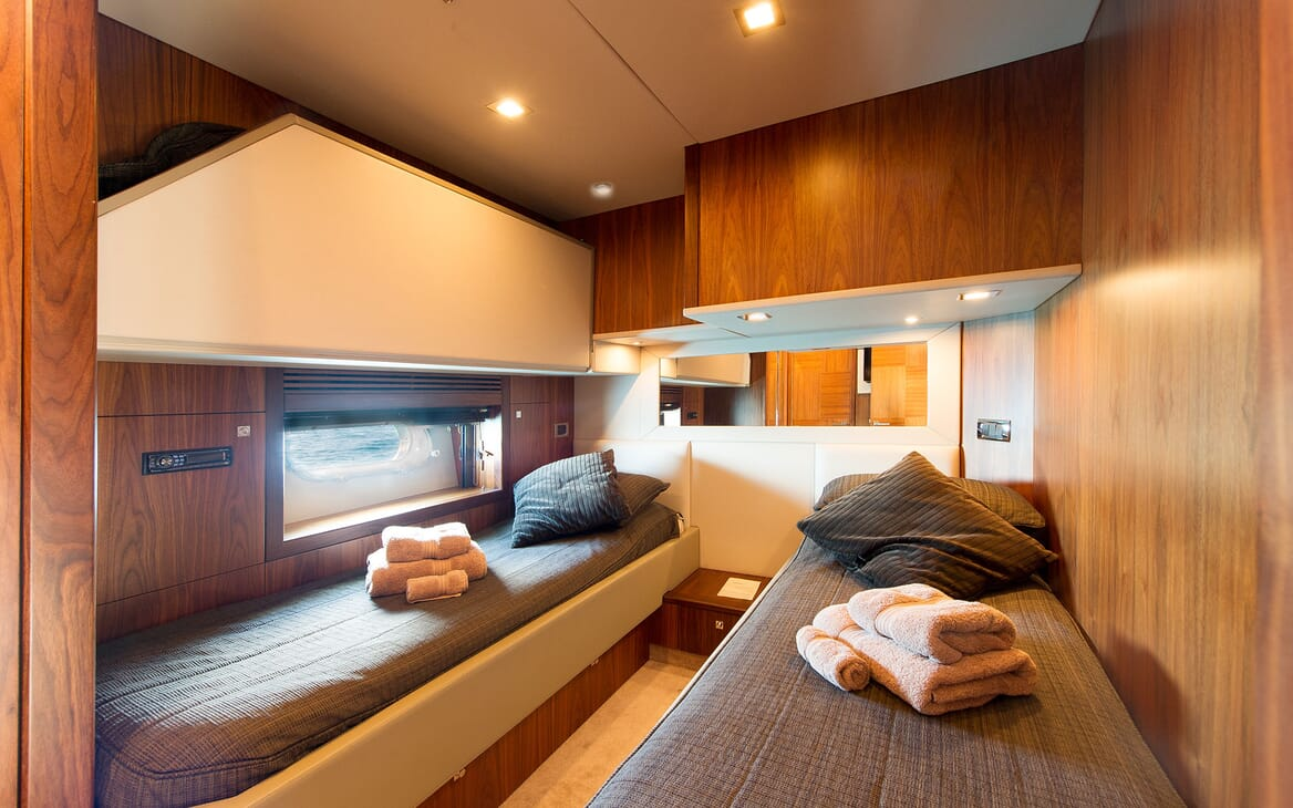 Motor Yacht ALVIUM Twin Guest Stateroom