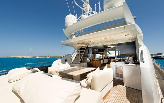 Motor Yacht ALVIUM Aft Deck
