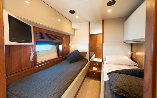 Motor Yacht ALVIUM Twin Stateroom