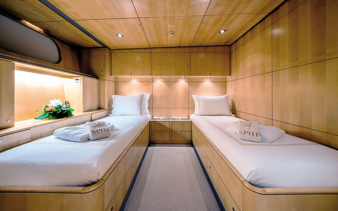 Sailing Yacht SPIIP Twin Guest Stateroom 2