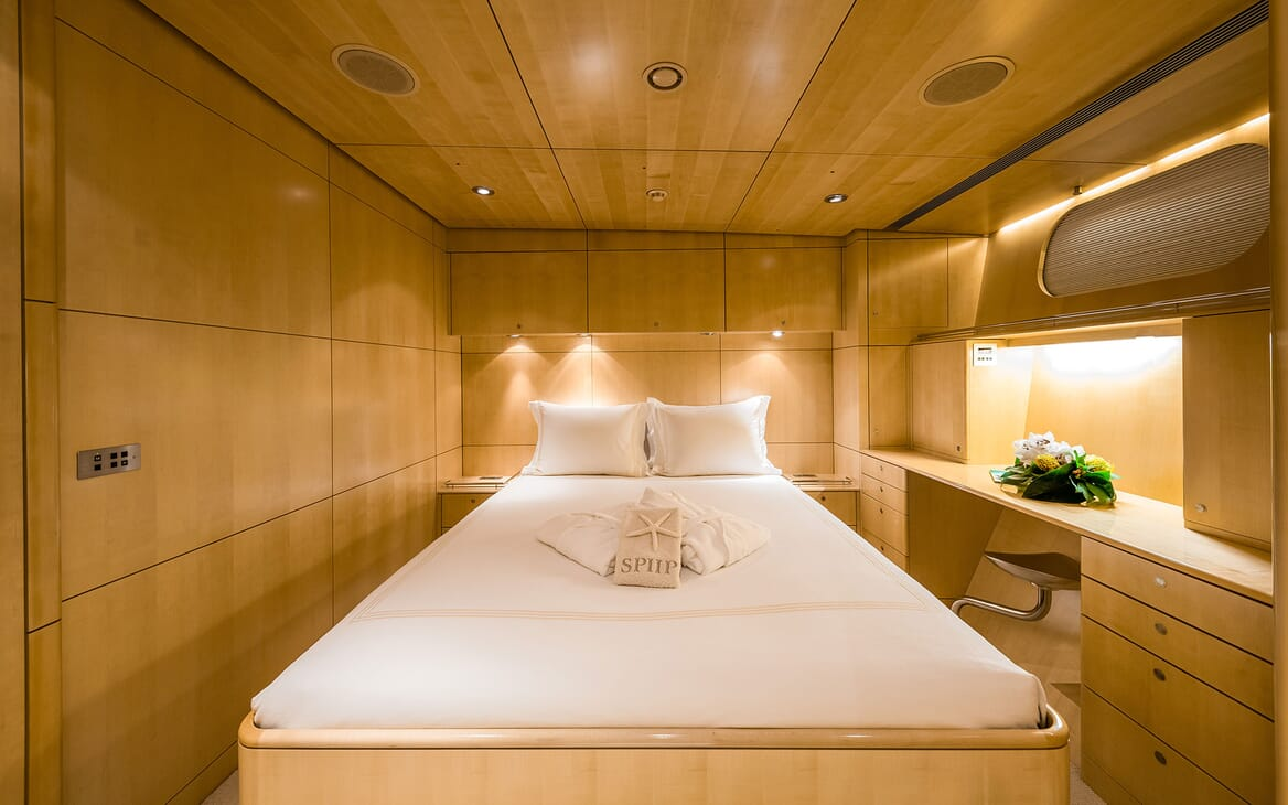 Sailing Yacht SPIIP Guest Double Stateroom