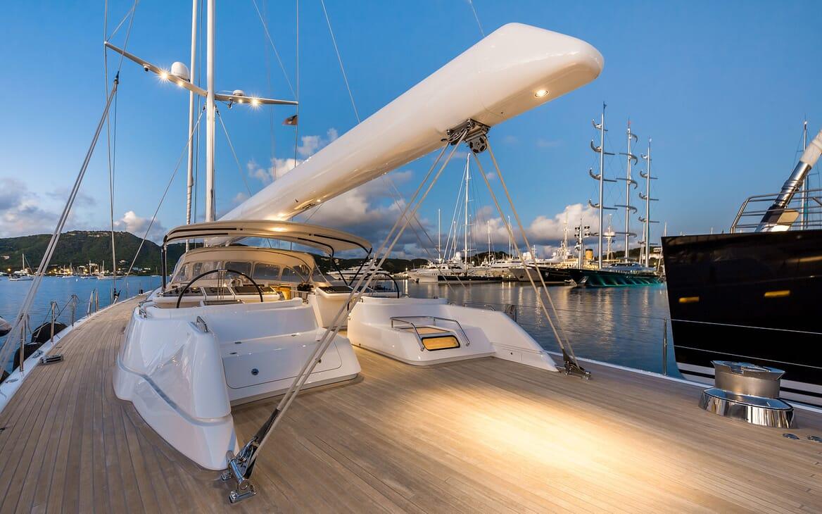 Sailing Yacht SPIIP Deck