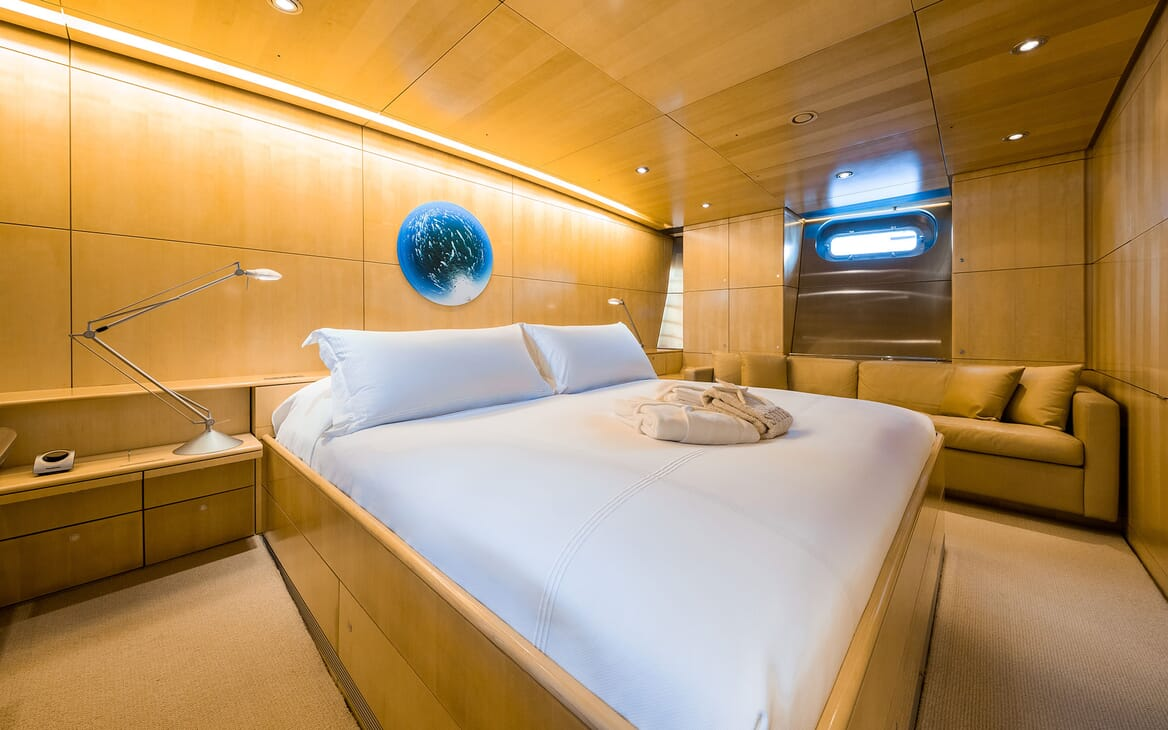 Sailing Yacht SPIIP Master Stateroom