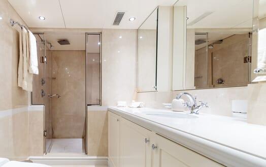 Motor Yacht ARIONAS Master Shower room
