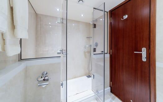 Motor Yacht ARIONAS Guest Shower Room
