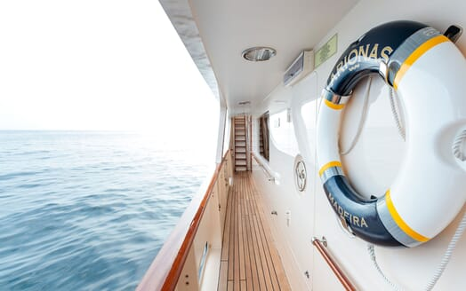 Motor Yacht ARIONAS Walkway