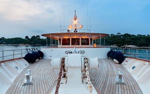 Motor Yacht ARIONAS Bow