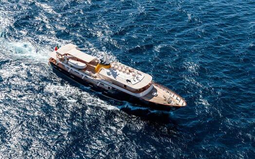 Motor Yacht ARIONAS Exterior Aerial