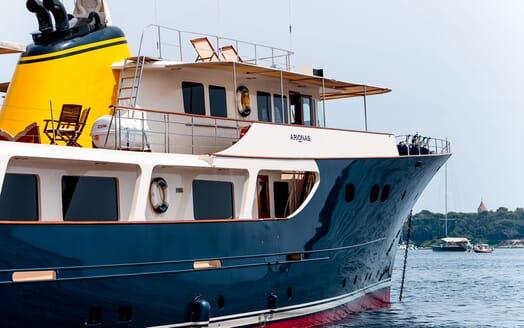 Motor Yacht ARIONAS Exterior Detail