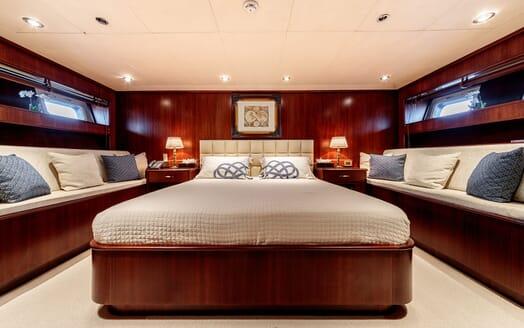 Motor Yacht ARIONAS Master Stateroom