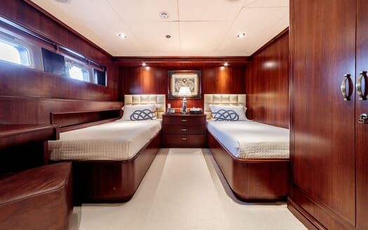 Motor Yacht ARIONAS Twin Guest Stateroom