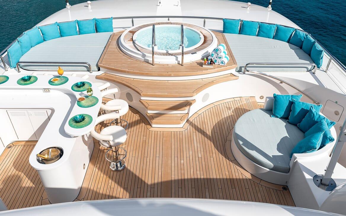 Motor Yacht SECRET Sun Deck