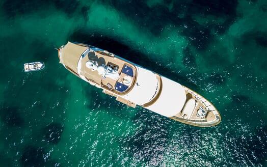 Motor Yacht Soprano aerial