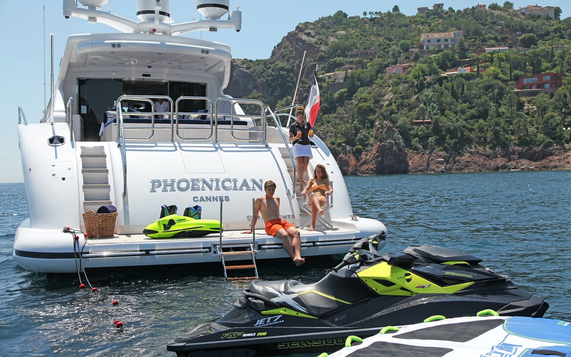 Motor Yacht PHOENICIAN Aft Toys