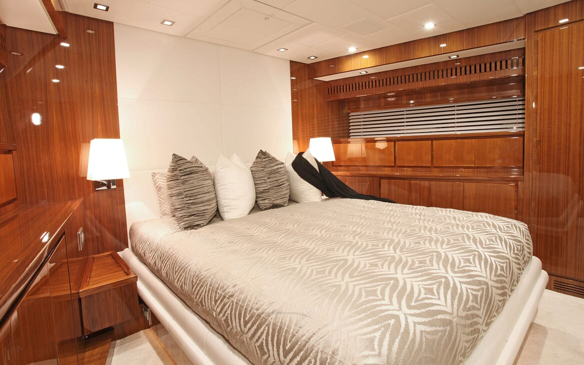 Motor Yacht PHOENICIAN Guest Double Stateroom