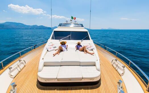 Motor Yacht Riviera main deck