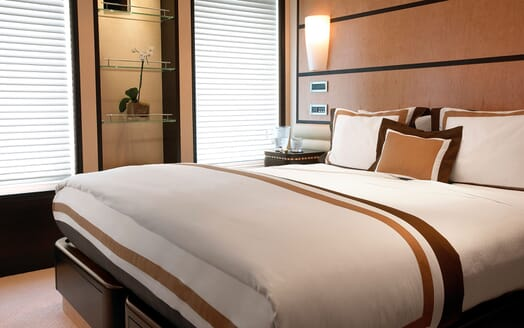 Motor Yacht HARLE Guest Double Stateroom