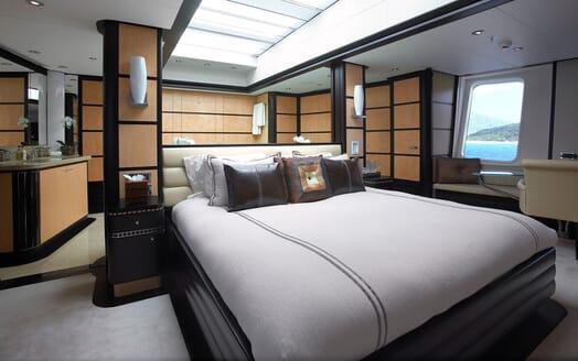 Motor Yacht HARLE Master Stateroom