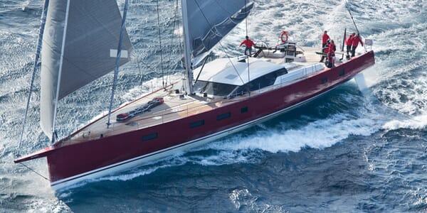 Sailing Yacht Nomad sailing
