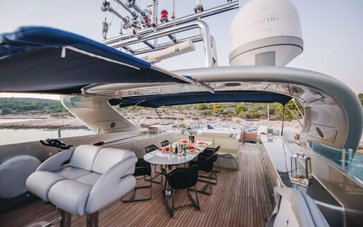 Motor Yacht One Blue VIP cabin