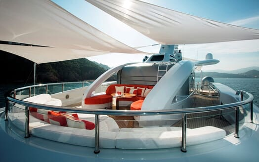 Motor Yacht ARIENCE Sundeck