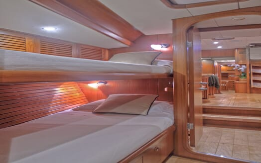 Sailing Yacht Constanter twin stateroom