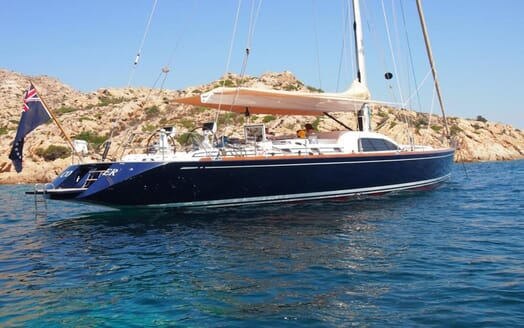 Sailing Yacht Constanter exterior