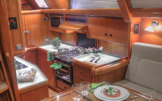 Sailing Yacht Constanter galley