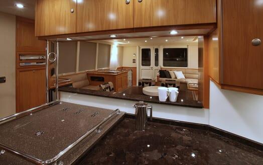 Motor Yacht TASMAN Galley
