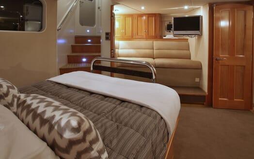 Motor Yacht TASMAN Master Stateroom 2