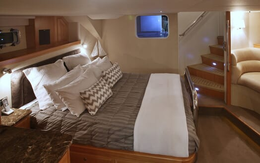 Motor Yacht TASMAN Guest Double Stateroom