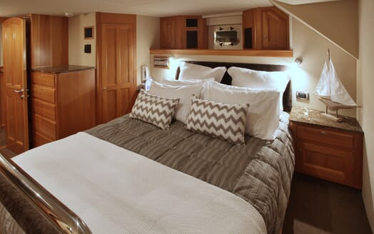 Motor Yacht TASMAN Double Guest Stateroom