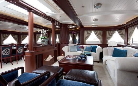 Sailing Yacht Mikhail S Vorontsov saloon