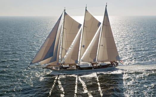 Sailing Yacht Mikhail S Vorontsov sailing