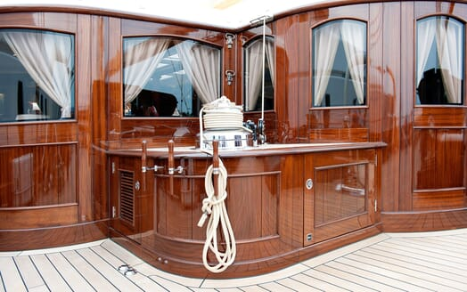 Sailing Yacht Mikhail S Vorontsov interior design