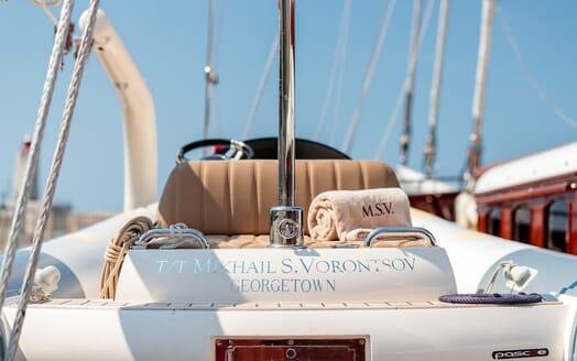 Sailing Yacht Mikhail S Vorontsov sundeck