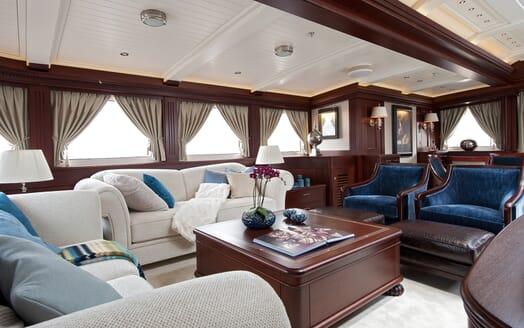 Sailing Yacht Mikhail S Vorontsov main saloon
