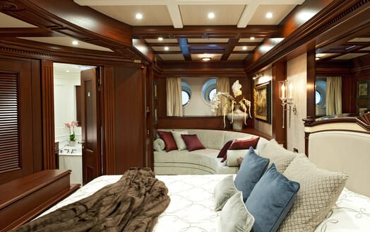 Sailing Yacht Mikhail S Vorontsov stateroom