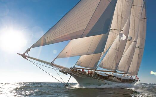 Sailing Yacht Mikhail S Vorontsov underway