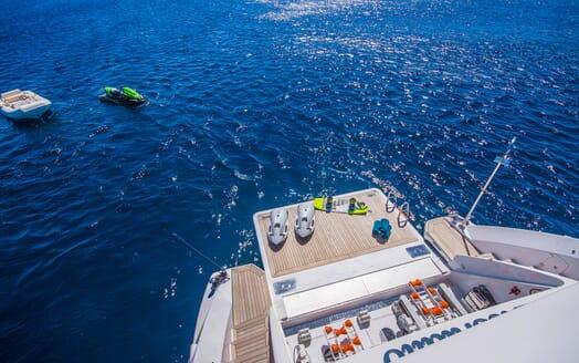 Motor Yacht LULU Water Toys
