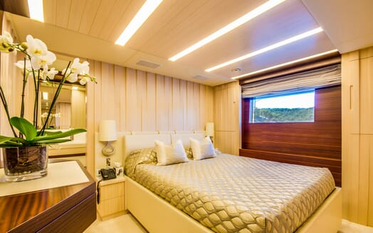 Motor Yacht LULU Guest Double Stateroom