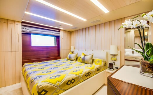 Motor Yacht LULU Second Guest Stateroom