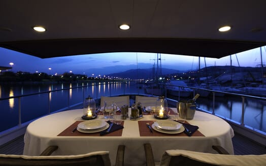 Motor Yacht Emerald  main deck