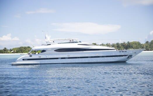 Motor Yacht Sea Jaguar aerial