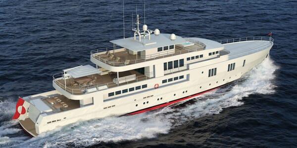Motor Yacht OCEA X 47 running shot