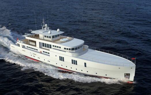 Motor Yacht OCEA X 47 cruising