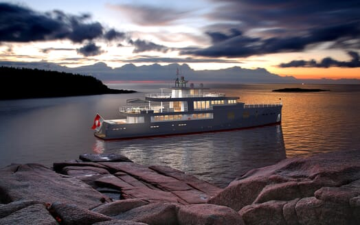 Motor Yacht OCEA X 47 exterior