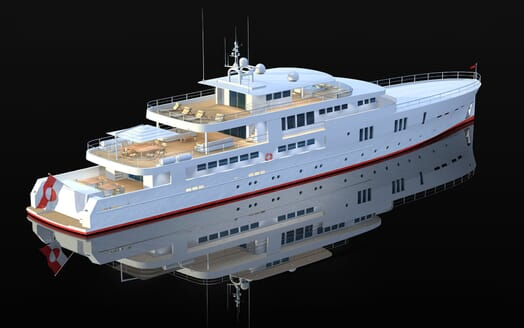 Motor Yacht OCEA X 47 exterior plan
