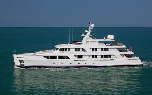 Motor Yacht GAZZELLA Side Profile