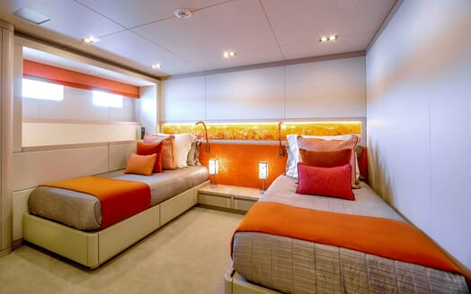 Motor Yacht PHILMX Twin Guest Stateroom